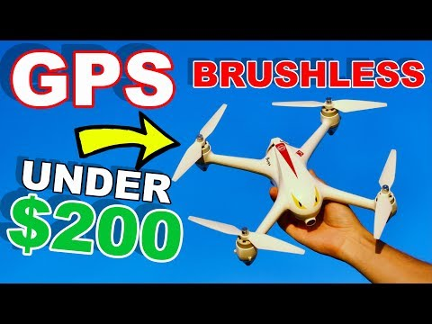 Best GPS Camera Drone Under $200 - MJX Bugs 2 B2C - Brushless TheRcSaylors