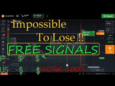 Impossible to lose !! use the FREE SIGNALS   100% work || iq preferred strategy