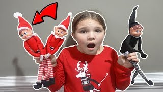 Mean Elf On The Shelf Is Back With His Family! Is The Doll Maker Controlling  Evl