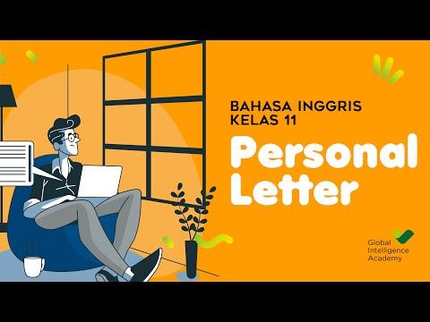 BAHASA INGGRIS Kelas 11 - Personal Letter | GIA Academy