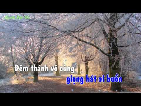 Bài Thánh Ca Buồn Karaoke HD [Beat Chuẩn]