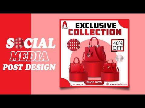 Social Media Post Design   E Commerce Product Banner Design   Social Media Banner Design