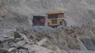 Komatsu HD785 dump truck