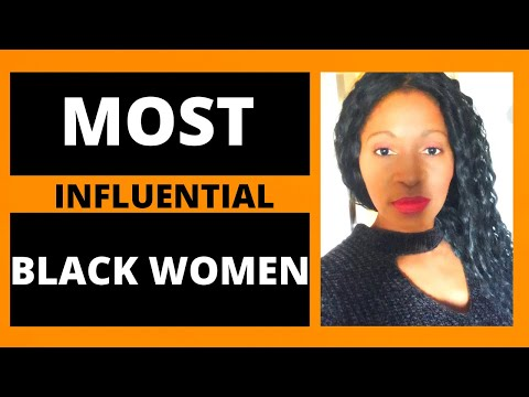 Most Influential African American Women:Black History Month