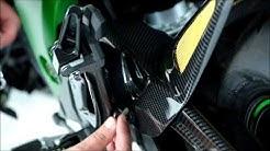 How to fit a 2013 Kawasaki Z800 Hugger (Powerbronze)