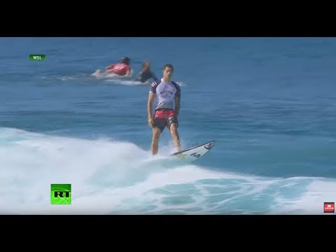 WATCH: Surfer Kelly Slater Gets Perfect 10 At Pipe Masters