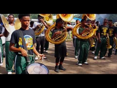 "Jim Hill High School Band Playing ""SAY SUM"" 2016 (Homecoming Parade)"