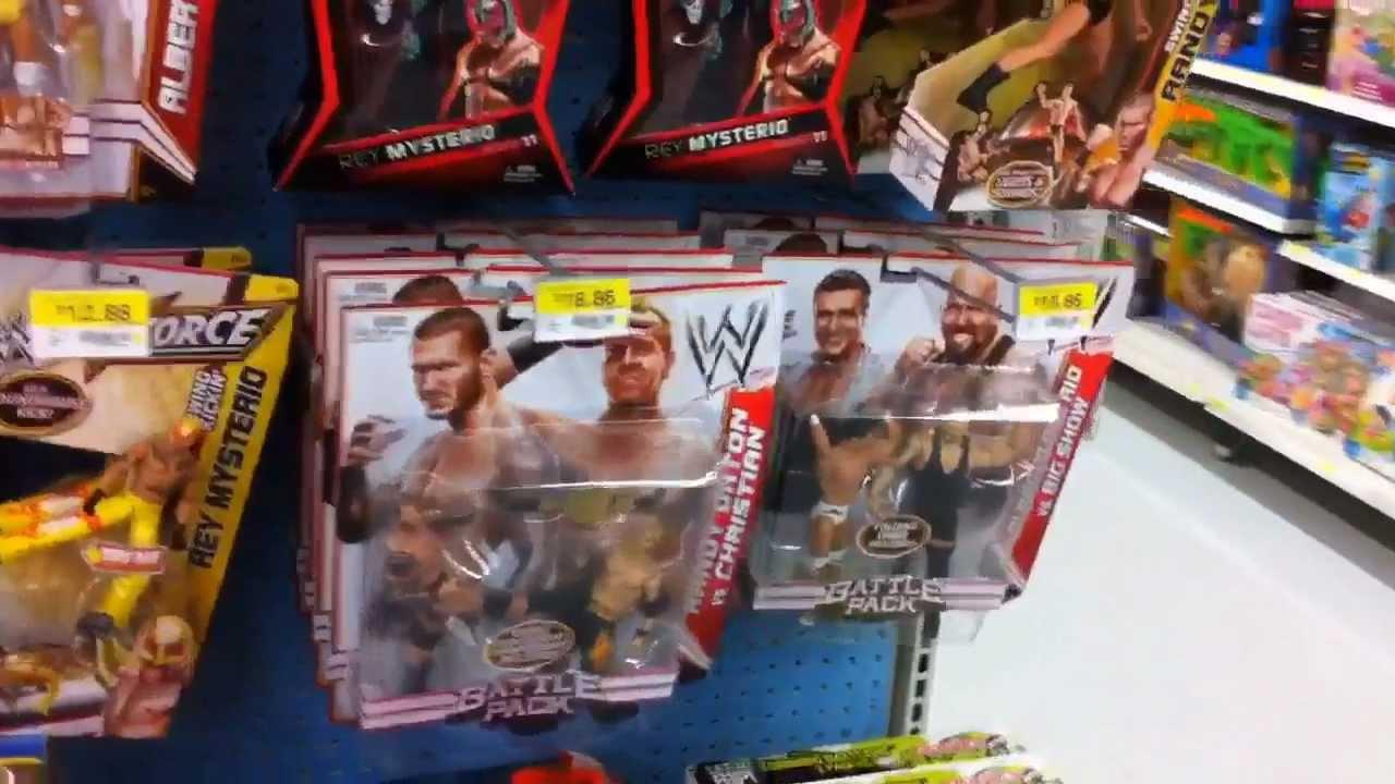 Wwe Action Insider Walmart Wrestling Figure Aisle Store Mattel