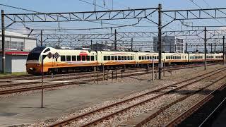 〔4K UHD〕JR東日本・羽越本線:酒田駅、E653系/特急『いなほ号』酒田運輸区、回送シーン。