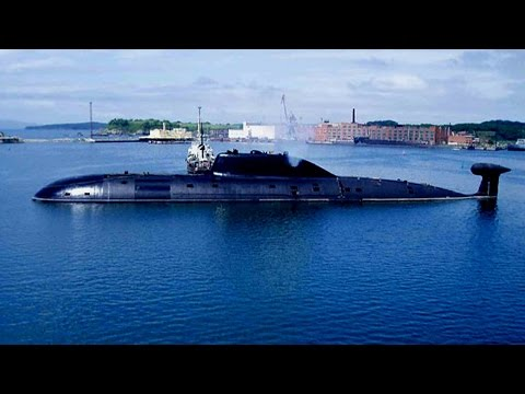 Indian self-made Arihant-class nuclear powered submarine in public military power south asia
