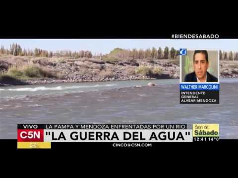 C5N - Sociedad: La Pampa y Mendoza enfrentadas por un río