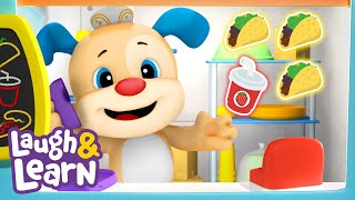 Laugh & Learn™ - Food Truck   Cartoons and Kids Songs   Learn ABCs + 123s   Nursery Rhymes