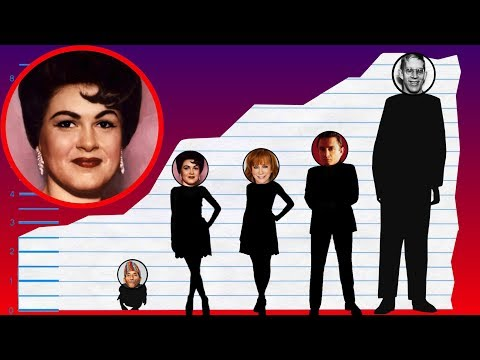 How Tall Is Patsy Cline? - Height Comparison!
