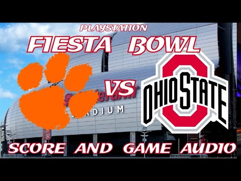 CLEMSON TIGERS Vs OHIO STATE BUCKEYES FIESTA BOWL LIVE STREAM WATCH PARTY(GAME AUDIO ONLY)