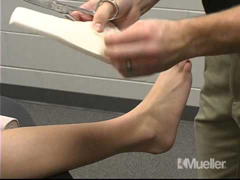 Как наложить повязку на голеностопный сустав видео артроскопия мениска коленного сустава отзывы