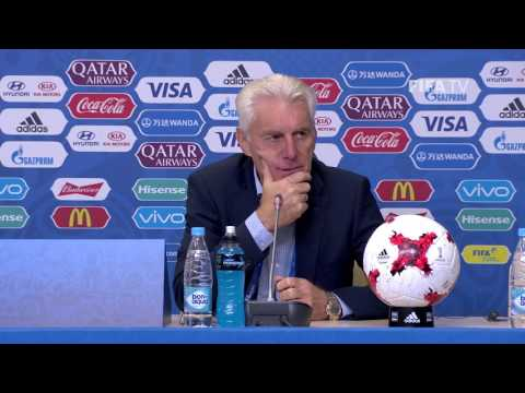 CMR v AUS - Hugo Broos - Cameroon Post-Match Press Conference