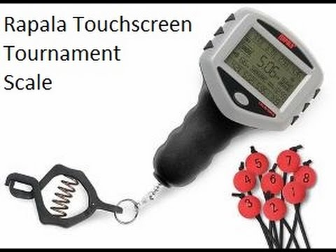 Rapala Touchscreen Tournament Scale Review