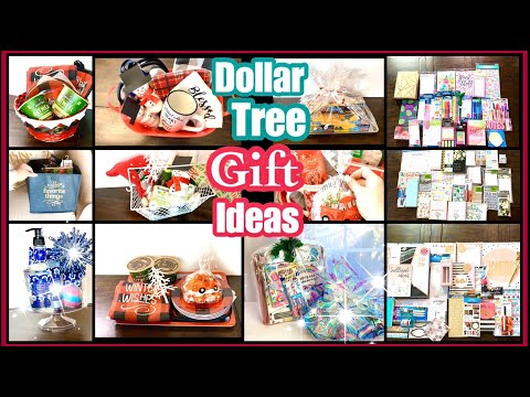 DOLLAR TREE DIY GIFTS!