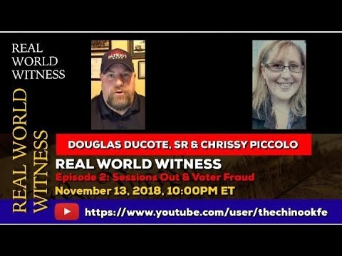 Real World Witness live with Douglas & Chrissy