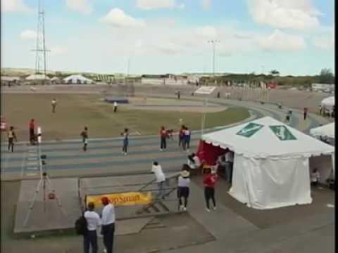 2004 interschool sports 4x400m open Barbados