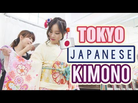 Street Food in Tokyo  | How to rent a kimono in Japan