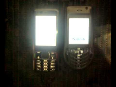 Nokia 6630 vs Nokia N82 startup comparison