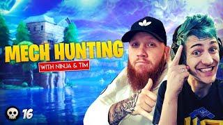 Ninja & TimTheTatman Go Mech Hunting