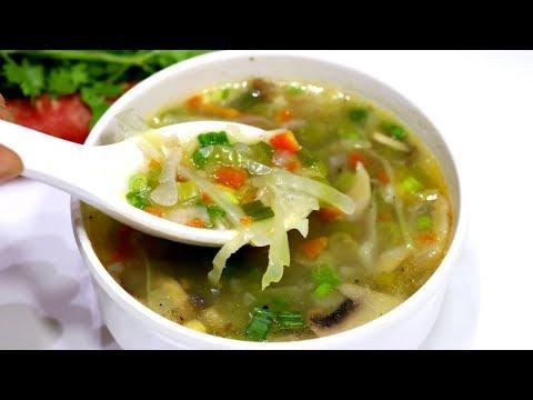 वेजिटेबल सूप बनाने का सबसे आसान तरीका   Vegetable Soup Recipe   Mixed Veg Soup   Kabitaskitchen