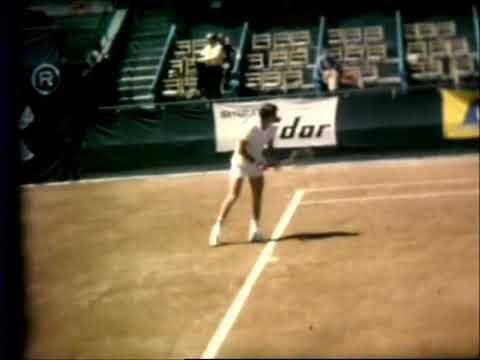 Adriano Panatta (1).April 1972.1/2 Final Grand Prix Madrid