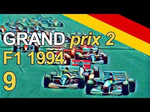 Grand Prix 2 Let's Play - Part 9 - F1 1994 German Grand Prix