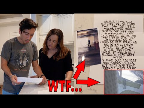 MY STALKER CAME TO MY HOUSE! (IM IN DANGER)