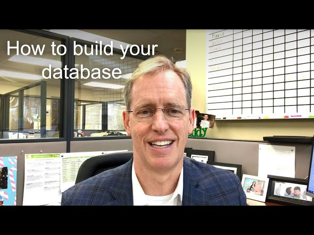 How to build your database
