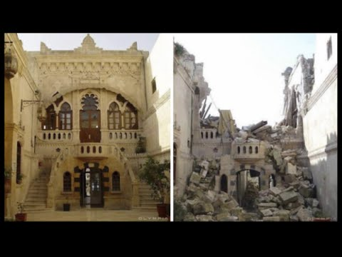 TOP 10 Places Before And After Photos Of War Torn Aleppo, Syria