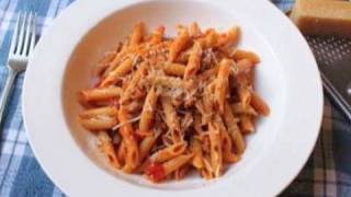 Penne Pasta with Sausage Ragu Recipe - Foodwishes