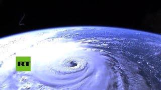 Impactantes imágenes del huracán Florence desde el espacio