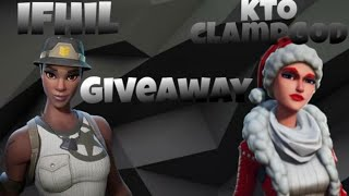 Fortnite Save The World Modded JackO Giveaway! FT. KTO CLAMPGOD (SELF PROMO ALLOWED!)