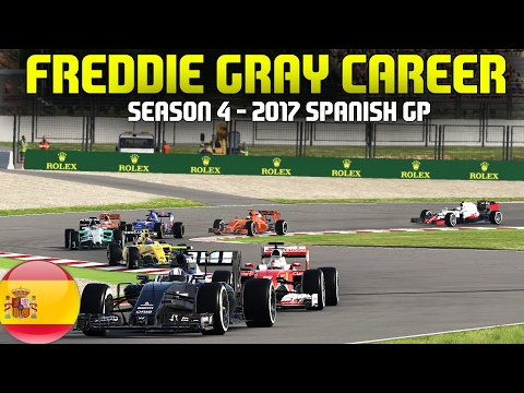 F1 2017 SPANISH GRAND PRIX | FREDDIE GRAY CAREER (S4 E5) - HE CRASHED HIM OUT!!