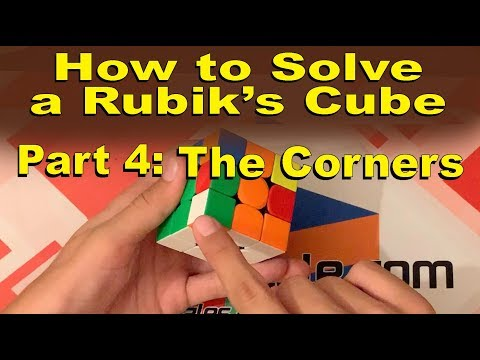 How to Solve a Rubik's Cube | Part 4: The Corners