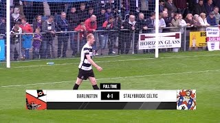 Darlington 4-1 Stalybridge Celtic- Vanarama National League North - 2016/17
