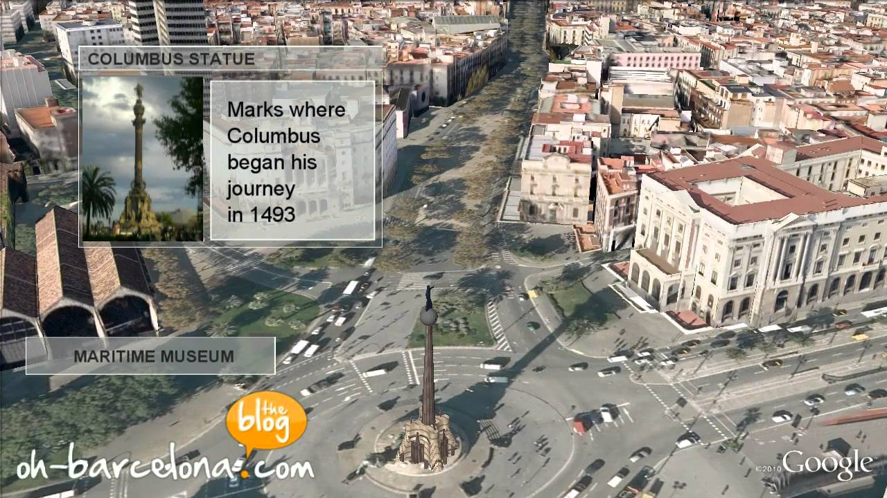 Barcelona 3D Video