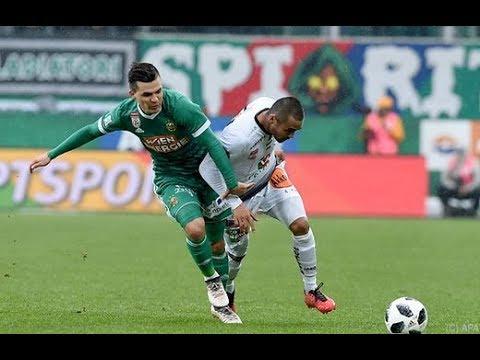 Highlights: Rapid Wien vs. Wolfsberger AC/ 5:1