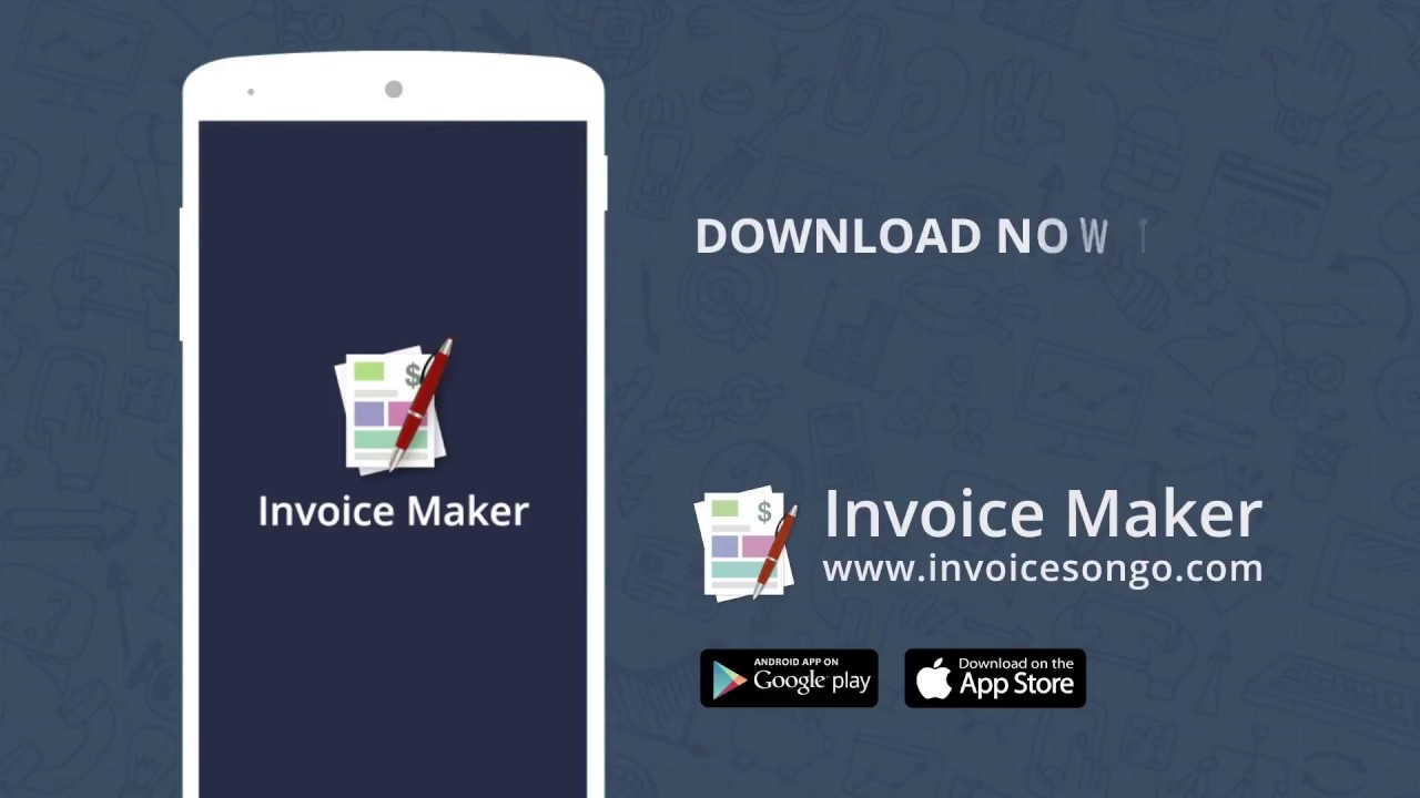 Invoice And Billing App FREE Estimate On The GO YouTube - Invoice asap android