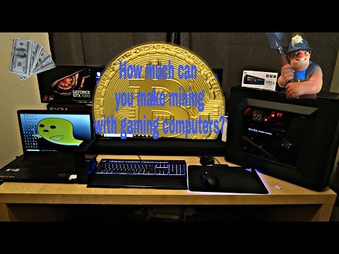How Much Can You Make Mining With Gaming Computers?