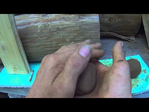 Приготовить состав глиняного раствора для печи