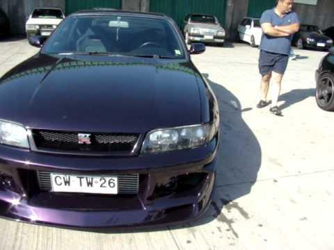 Nissan Skyline Gtr R33 Midnight Purple Youtube