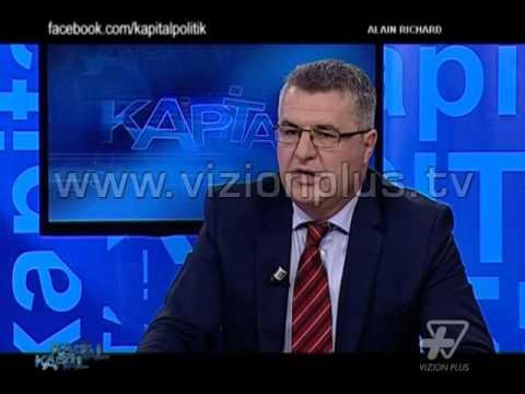Kapital - Shqiperia  ende larg Europes   Alain Richard - 13 Nentor 2015 - Talk show - Vizion Plus