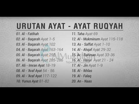 Ayat Ruqyah Untuk Gangguan Jin Dan Penawar Sihir