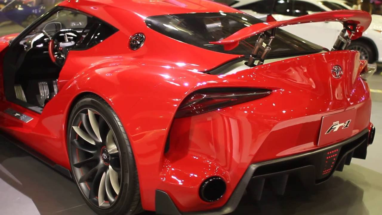 Toyota FT YouTube - Toyota ft1 price estimate