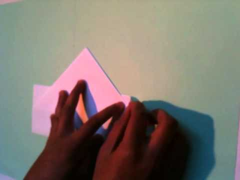 faire un bateau en papier origami facile youtube. Black Bedroom Furniture Sets. Home Design Ideas