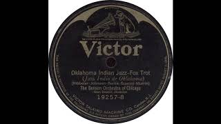 Victor 19257 B - Oklahoma Indian Jazz - The Benson Orchestra Of Chicago